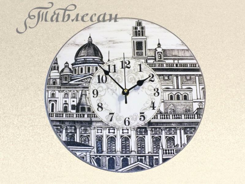 Настенные часы Сердце Италии круглые