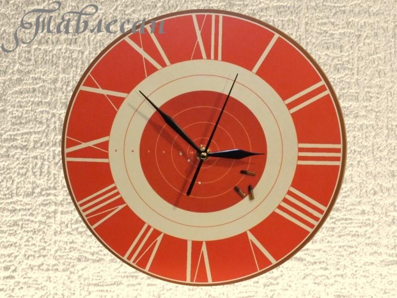 Настенные часы Мишень круглые