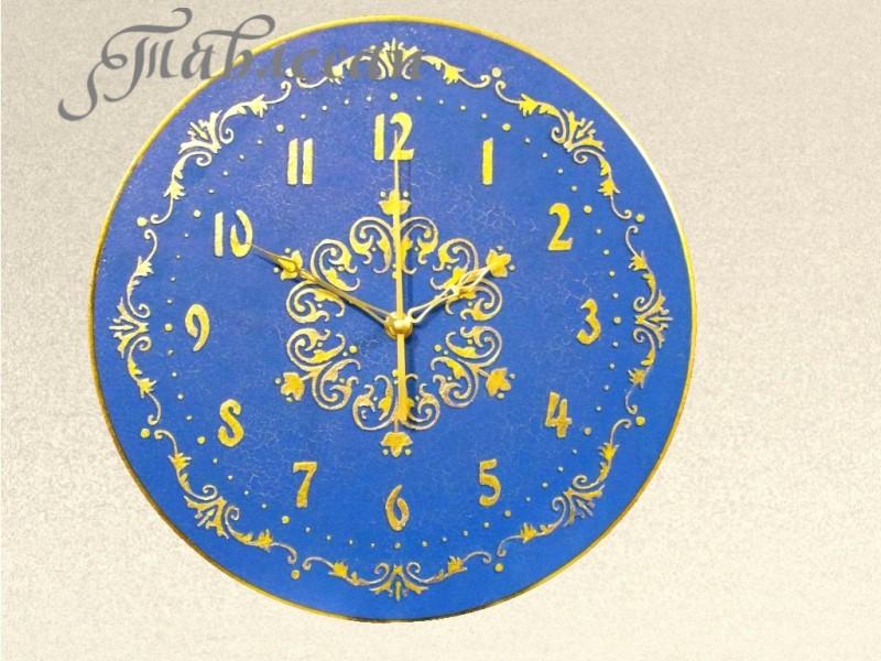 Настенные часы Золото Византии круглые
