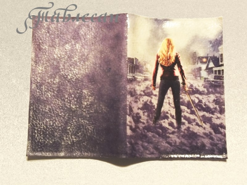 Обложка для паспорта Однажды в сказке. Эмма Свон. Сторибрук .