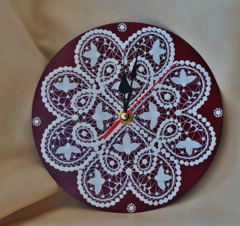 Часы Кружевные сердца