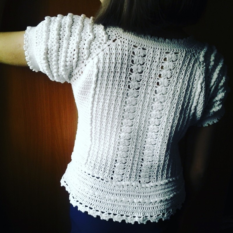 Винтажная блуза по мотивам Ванессы Монторо