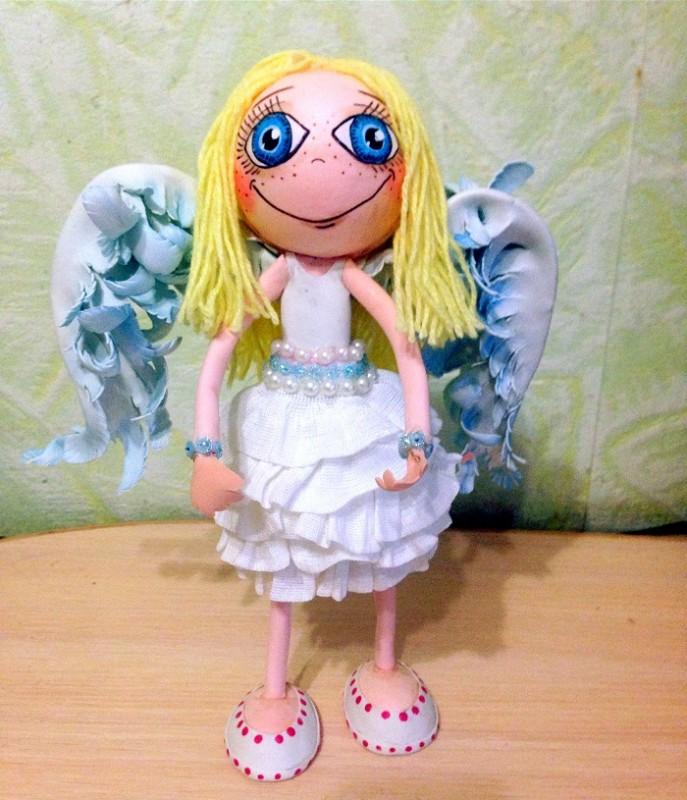 Кукла ангелочек Мила.