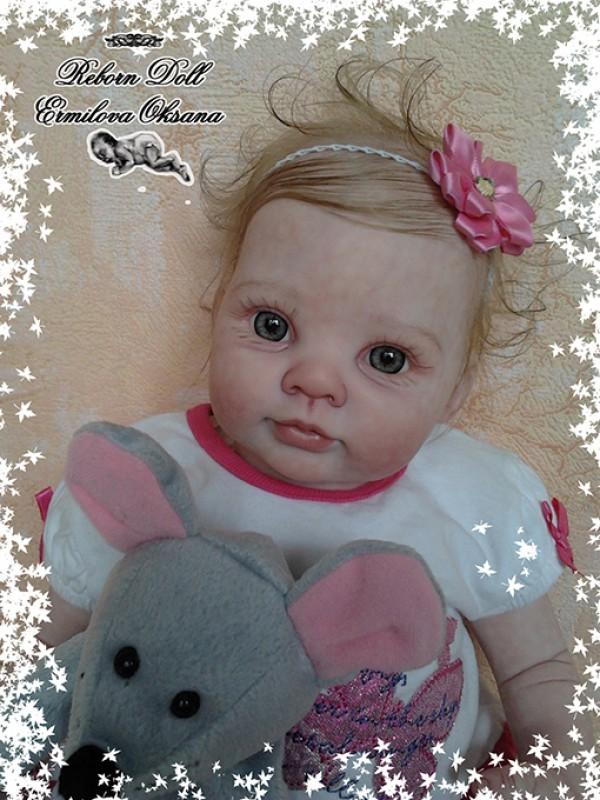Кукла реборн Василиса!
