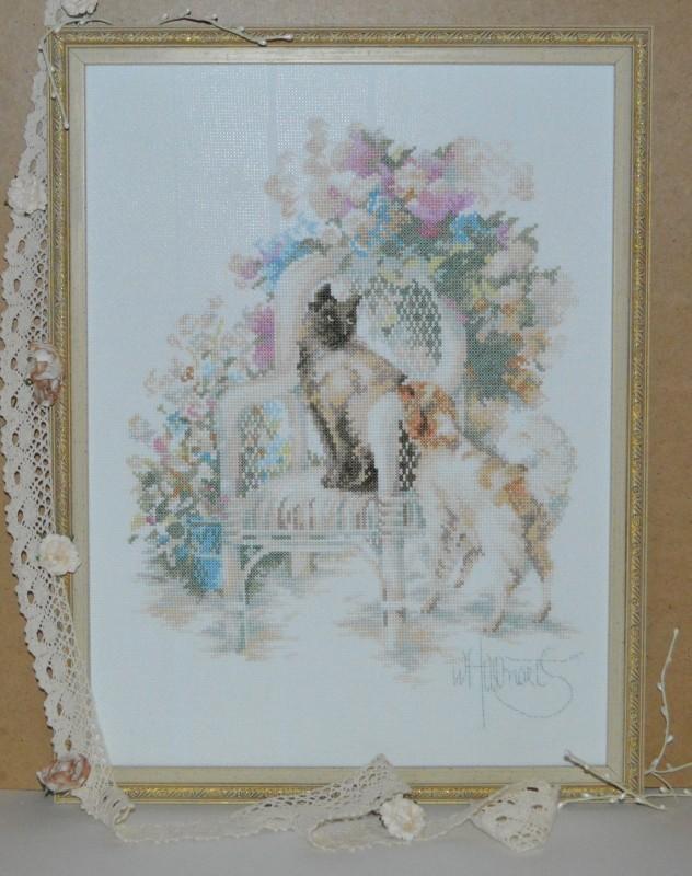 Вышитая картина серии Романтика от Lanarte