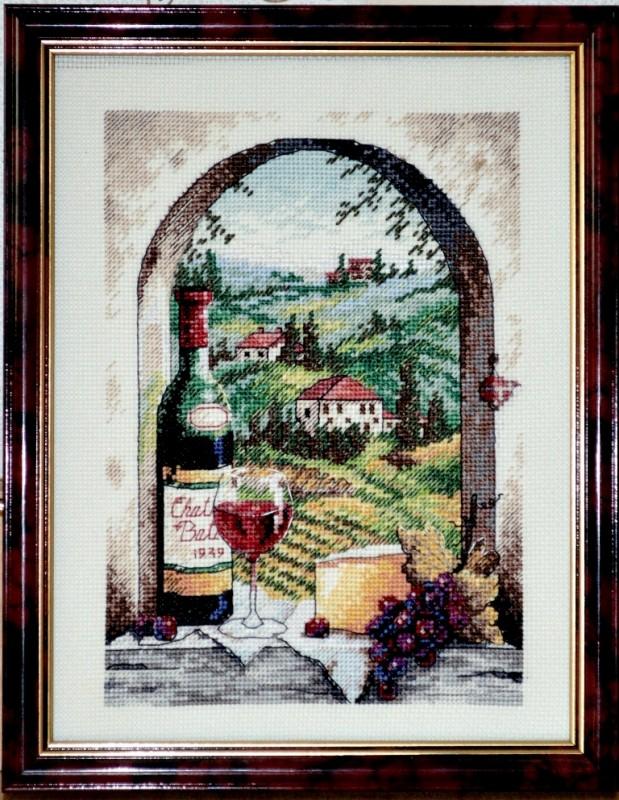 Вышитая картина от Dimensions Мечты о Тоскане