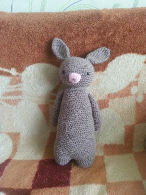 Амигуруми: Кролик Игорь