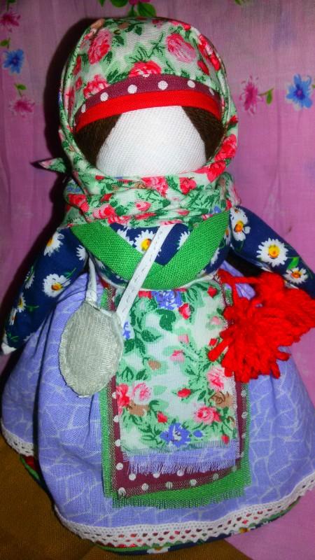 Авторская кукла в народном стиле Купчиха-Успешница