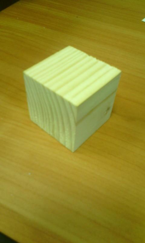 Деревянный кубик 40*40*40 мм