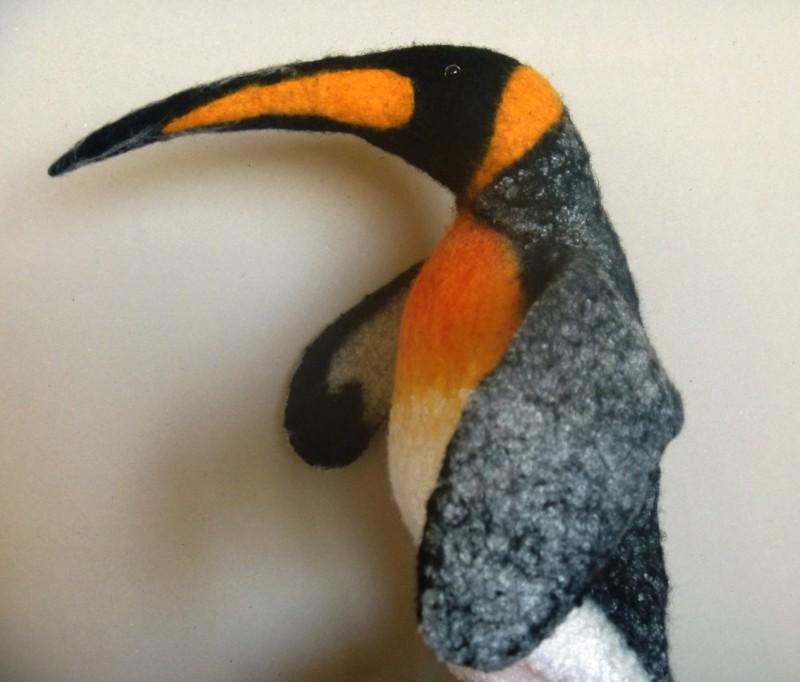 Королевский пингвин. Перчаточная кукла. Бибабо.bibabo.