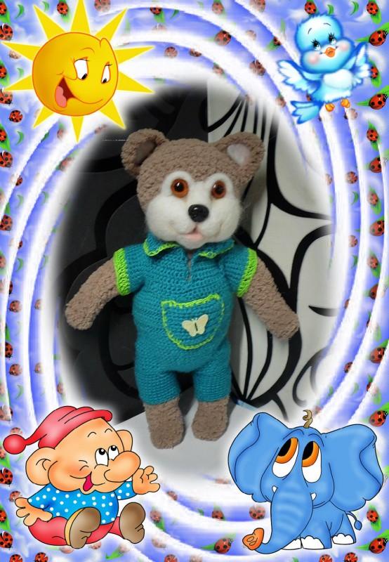 Мягкая игрушка Мишка