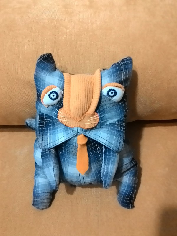 Кот в галстуке