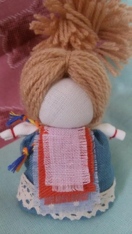 Славянская обережная кукла На счастье