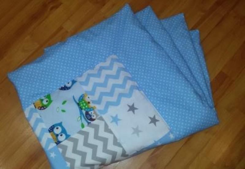 Детское лоскутное одеяло Совушка