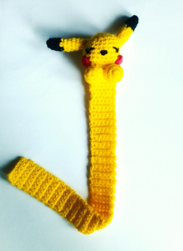 Закладка для книги Pikachu