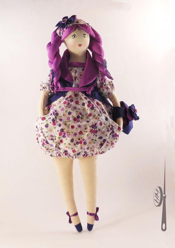Пампуша-Нюша кукла в подарок.