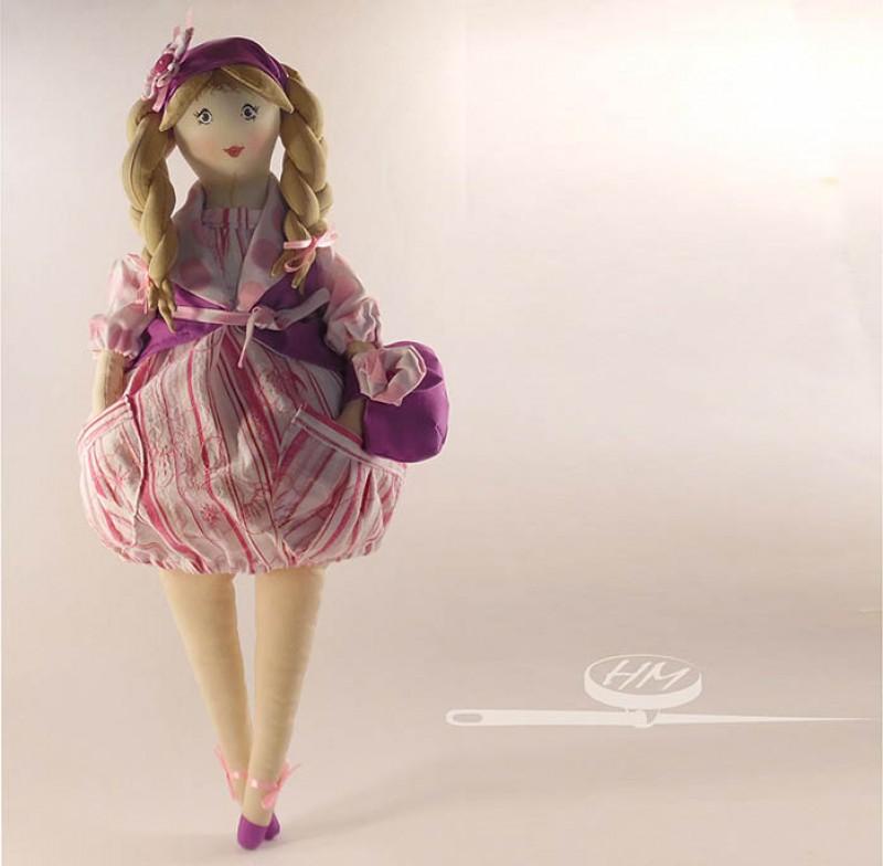 Пампуша-Манюша кукла в подарок.