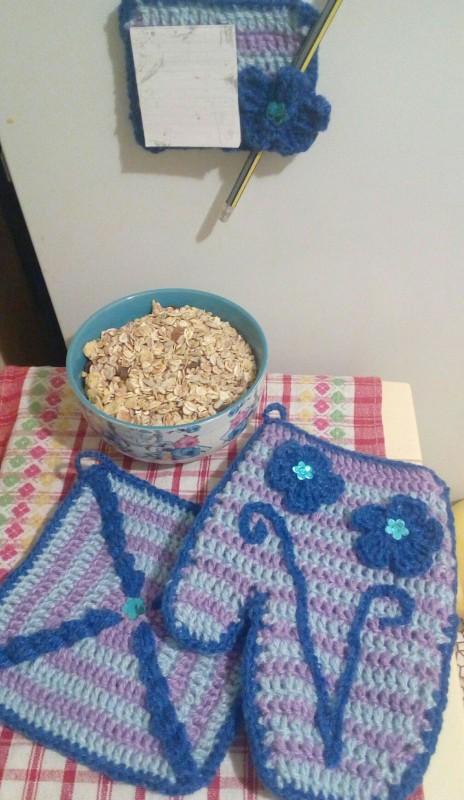 Подарочный набор для кухни Василек