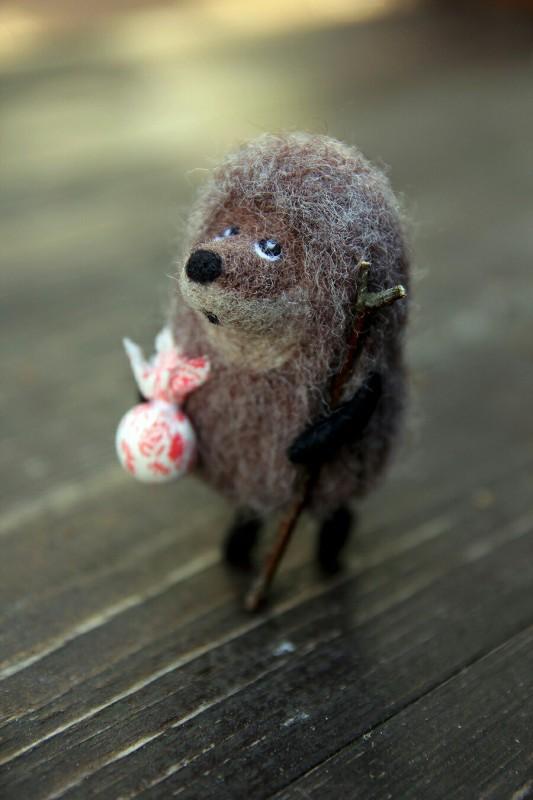 Ежик в тумане , интерьерная игрушка