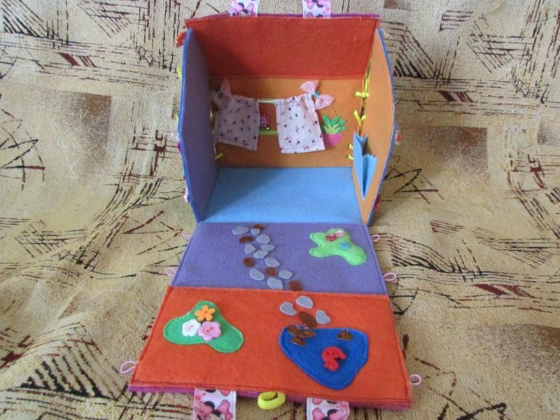 Сумочка для подарка  из фетра 3