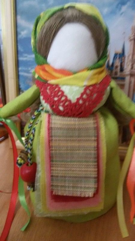 Народная кукла-оберег Желанница