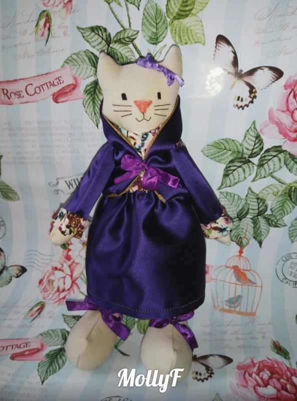 Интерьерная кукла Кошка Марго