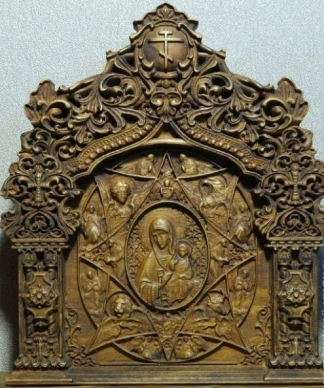Икона Неопалимая Купина.
