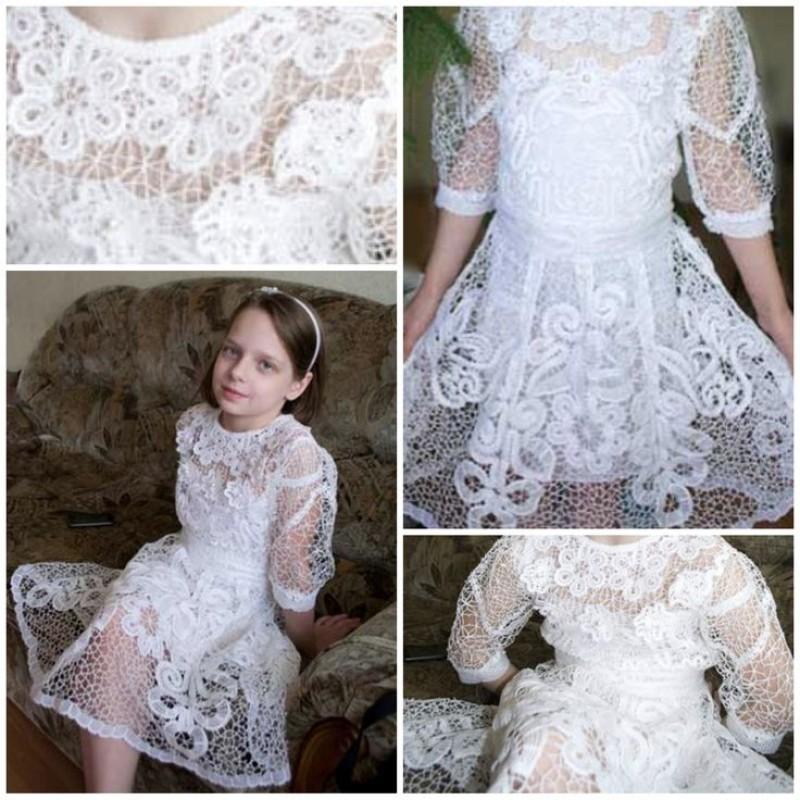 Платье Детское кружевное