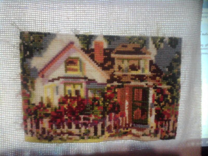 домик у бабушки