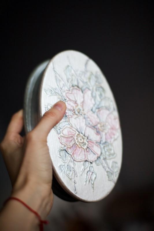 Шкатулка Цветы