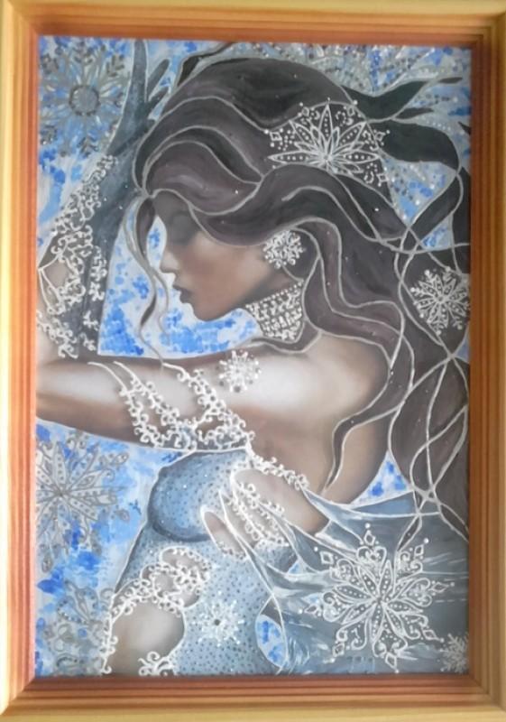 Картина Снежная дева