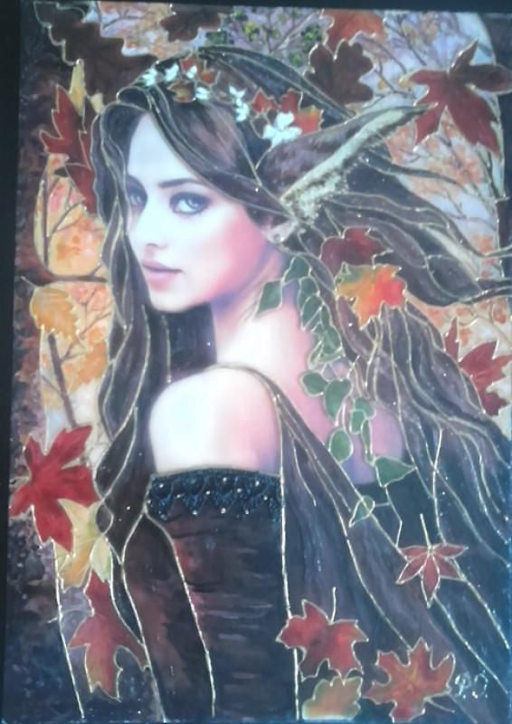 Картина Эльфийка