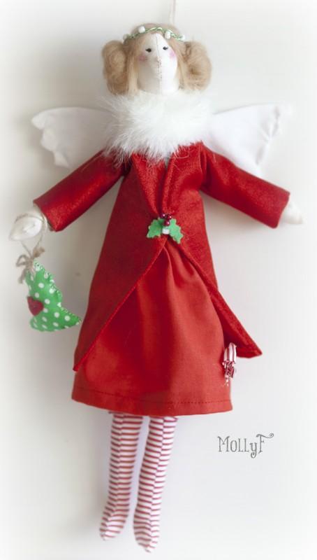 Рождественский Ангел Тильда