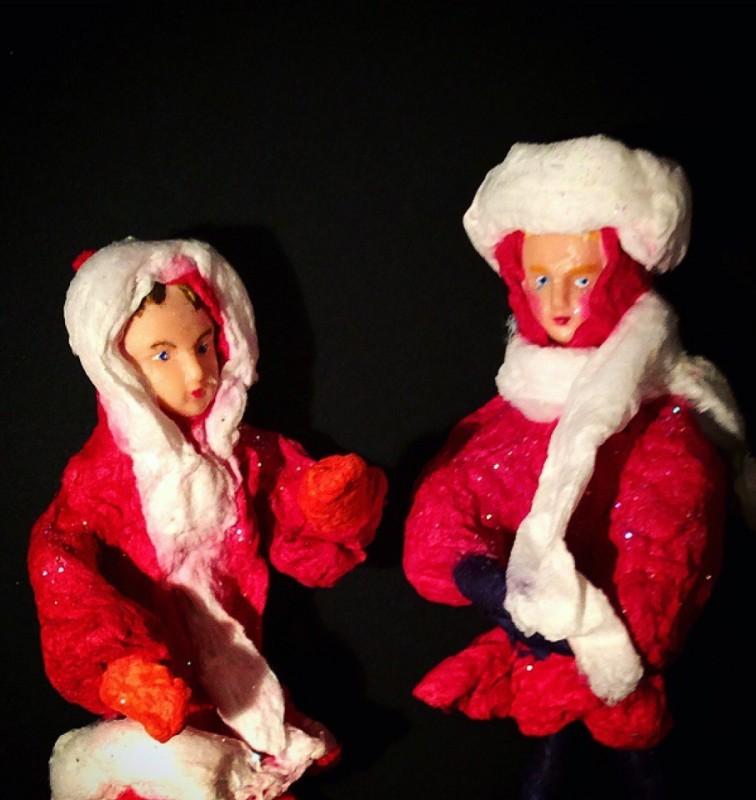Куклы Кай и Герда