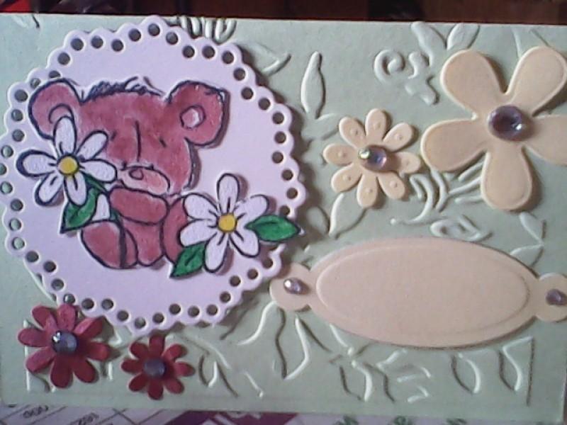 Мини-открыточка для детей