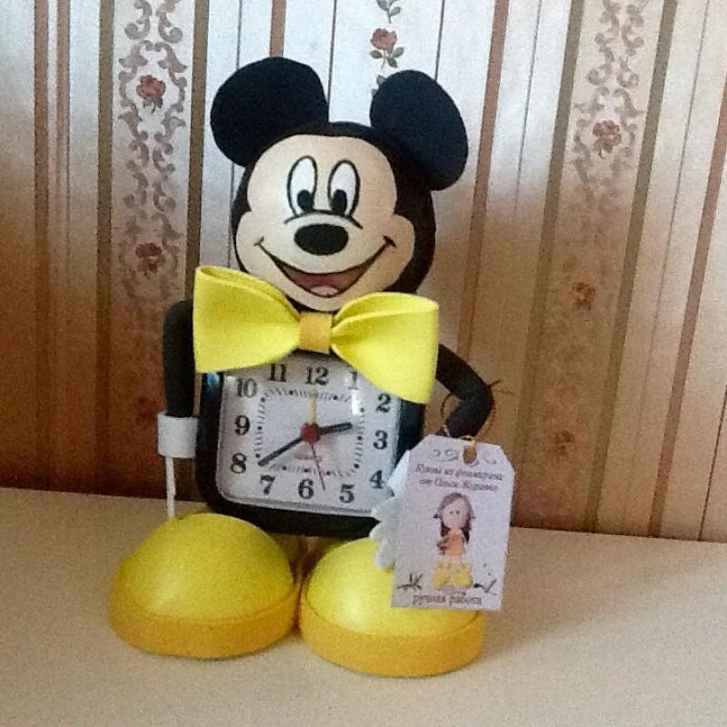 Часы для детей Микки