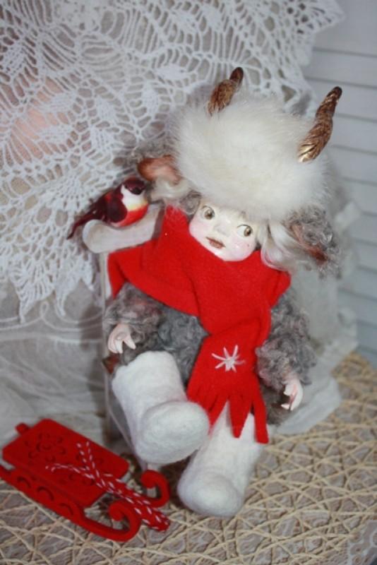 Куколка Козерожка