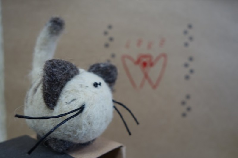 Кот в коробочке roonya