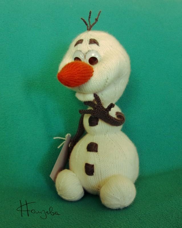 Снеговик ОЛАФ_авторская игрушка