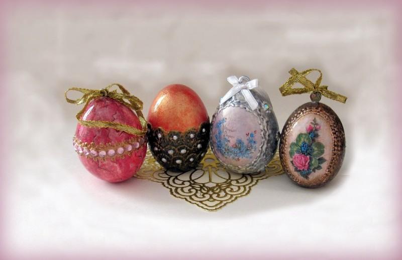 Пасхальные яйца. Декупаж.