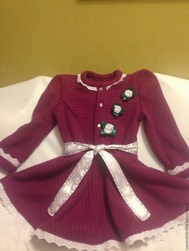 Красивое повседневное платьице для вашей малышки
