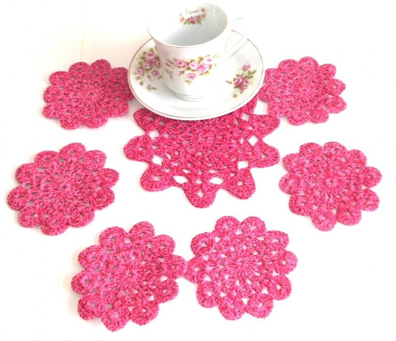 Набор подставок под горячее Чайные цветы!