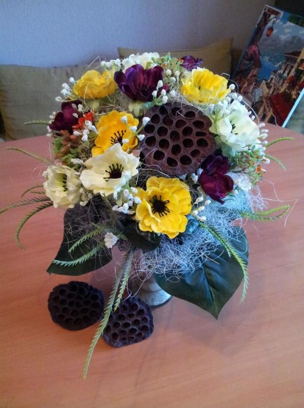 Композиция букет Весенние цветы