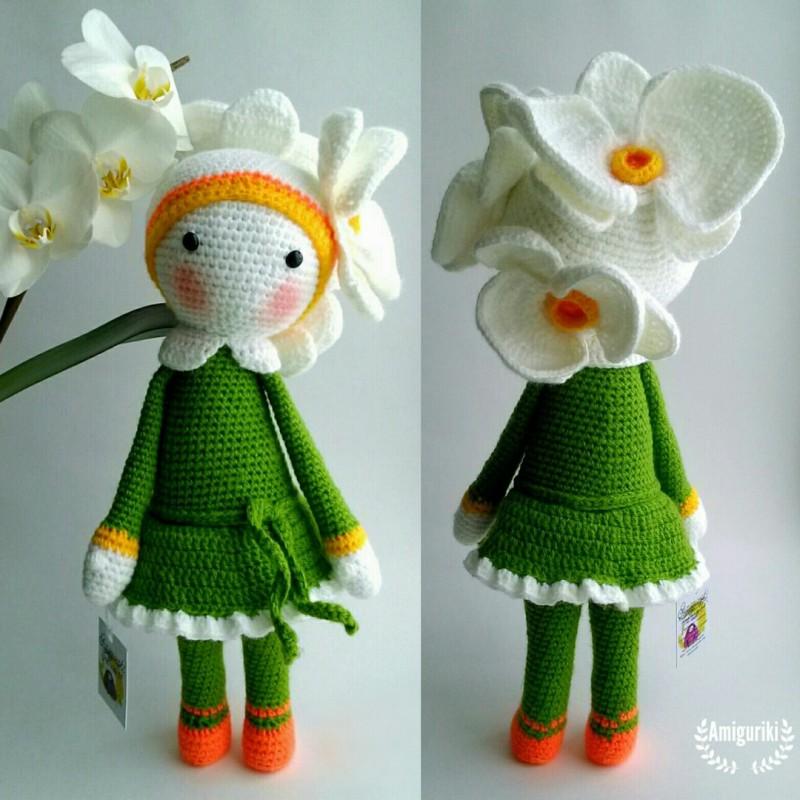 Куколка цветок орхидея