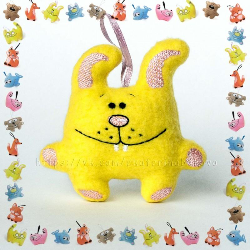 Мягкая игрушка-сувенир Зайка