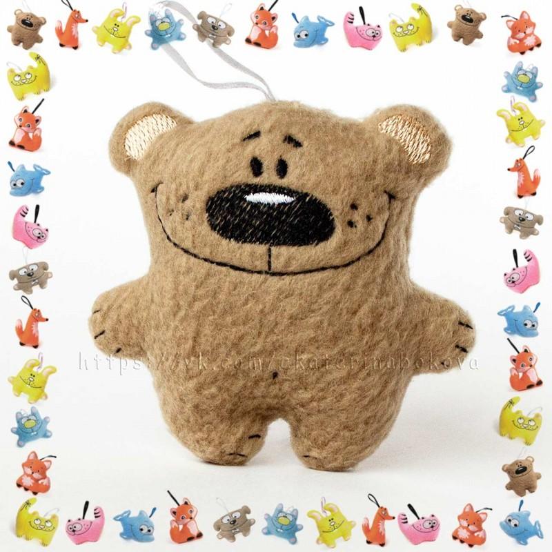 Мягкая игрушка-сувенир Мишка