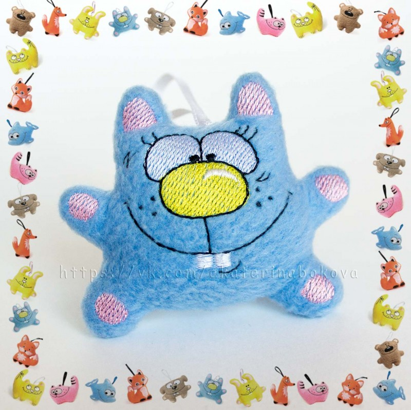 Мягкая игрушка-сувенир Котик