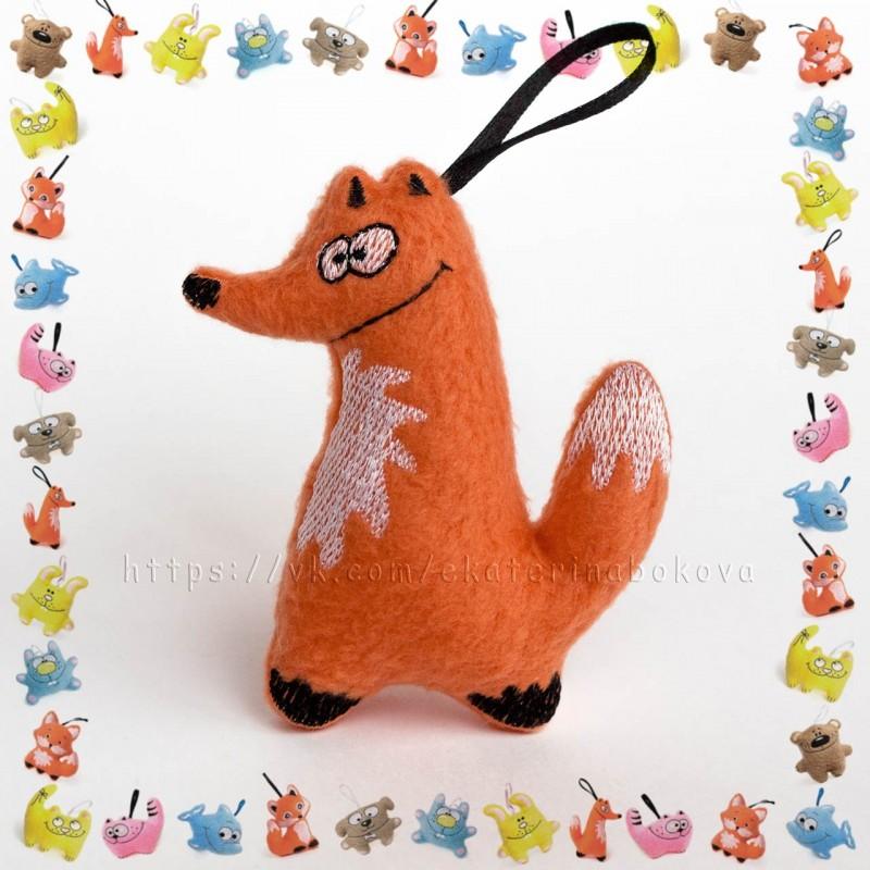Мягкая игрушка-сувенир Лис