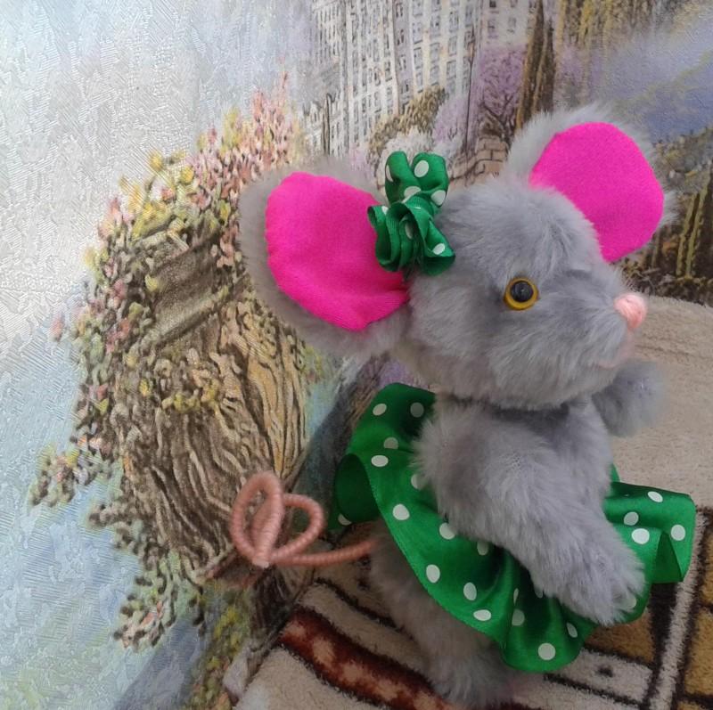 Мышонок из меха