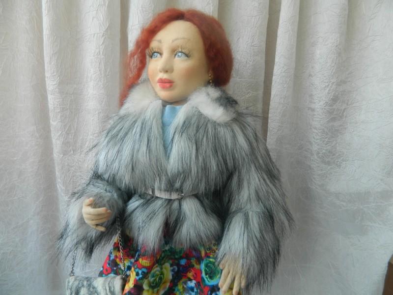 Кукла текстильная(не колготочная) Авторская ручная работа.